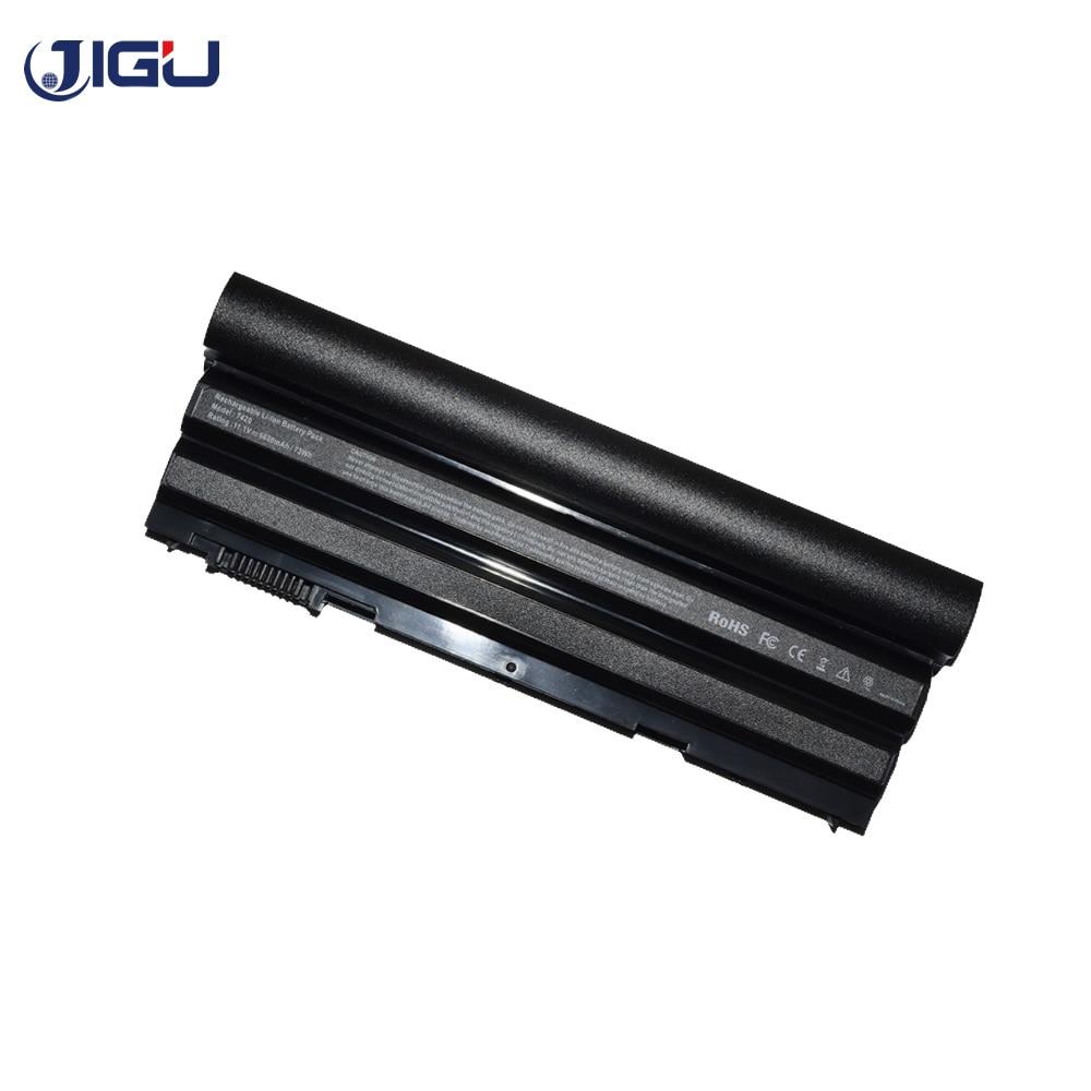 JIGU Laptop Battery 451-11694 8858X 8P3YX 911MD T54F3 For Dell Latitude E5520m E5530 E6120 E6420 E6420 ATG 9CELLS цена и фото