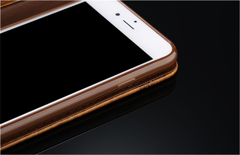 Skórzane etui z klapką telefon case for iphone 7 plus 6 s plus 5S 4S samsung galaxy S3 S4 S5 S6 S7 S8 Krawędzi Plus Uwaga 3 4 5 Karty Telefon torby 8