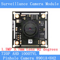 "3.7mm Pinhole camera HD 1/4 ""CMOS image sensor 8901A+H42 1000TVL CCTV night vision AHD Camera Module"