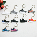 Cute Silicone Ultra Boost Key Chain Sneaker Keychain Kids Key Rings Key Holder Llaveros Chaveiro Porte Clef