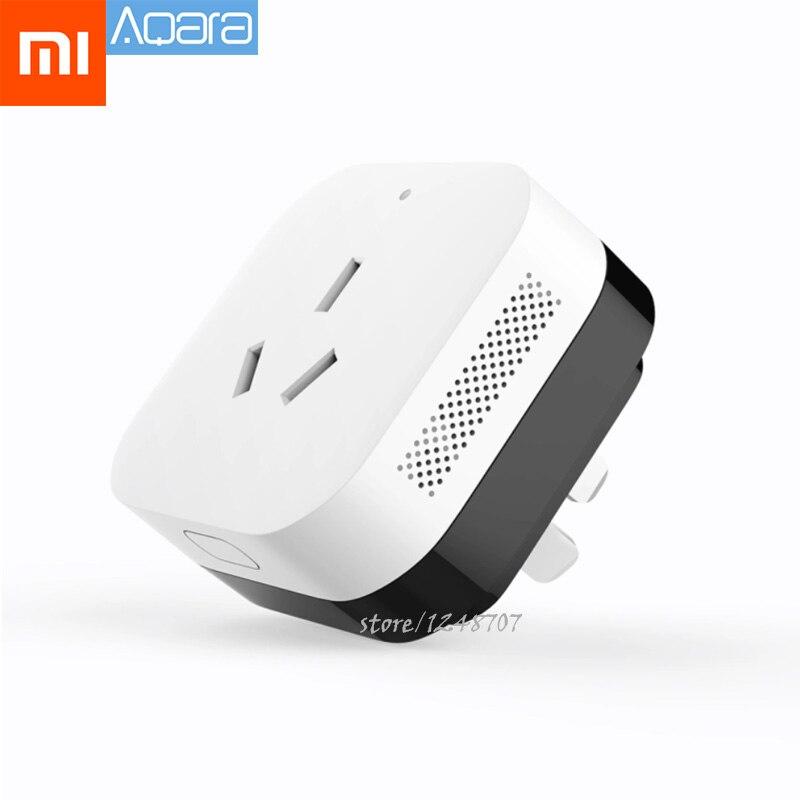 Xiaomi Aqara Companheiro de Trabalho Com Sensor de Umidade Temperatura do Ar Condicionado Função de Ligação do Gateway Mihome Smart App Controle