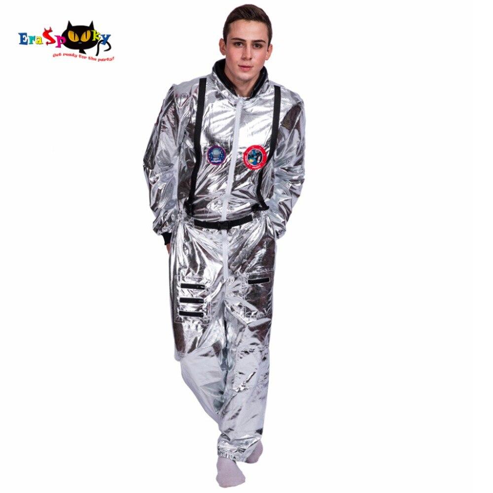 Uomini Astronauta Alien Pop Ballerina Fase Spaceman Costume di Carnevale Del Partito di Club Per Adulti di Sesso Maschile Abiti Abbigliamento Halloween Costumi di Fantasia