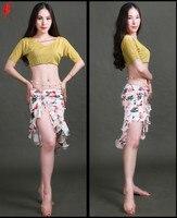 2017 New Style Belly Dance Set Suit For Women Belly Dance Clothes Set 2pcs T Shirt