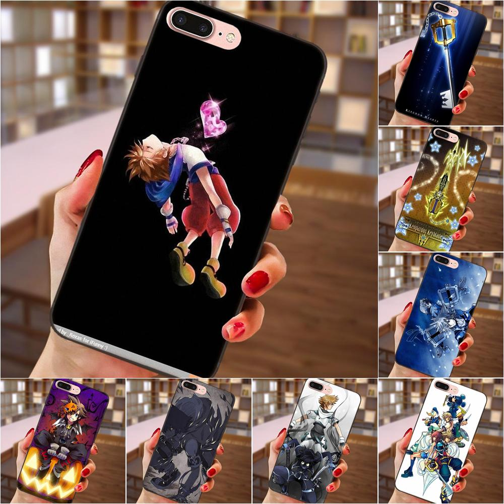 Helpful Kingdom Hearts Keyblades Sora For Samsung Galaxy A3 A5 A6 A6s A7 A8 A9 Star Plus 2016 2017 2018 Soft Tpu Hot Selling Products Are Sold Without Limitations Half-wrapped Case