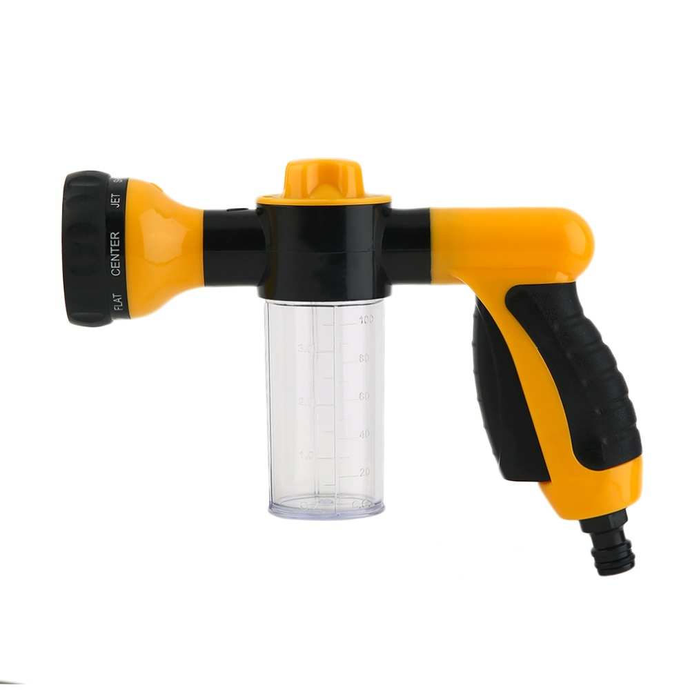 Hot Portable Styling High Pressure Auto Car Foam Water Sprayer Car Wash Foam Sprayer Black And Yellow Hot Selling