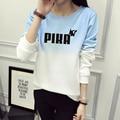 POKEMON Pika GO Cute Sweatshirt Winter Women 2016 Cotton Fleece Sweatshirt Jumper Women Gradient Letter Pullover JBW-12016