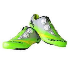 Nuevo Estilo de Ciclismo Equitación Zapatos Sapatilha Sidibike Ciclismo Zapatillas Transpirable Zapatos de Bicicleta de Carbono