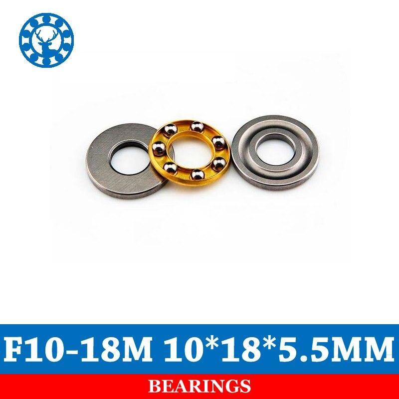 10pcs F10-18M Axial Ball Thrust Bearing 10mmX18mmX5.5mm 10*18*5.5mm