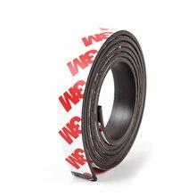 Cinta magnética Flexible autoadhesiva, U-JOVAN, 1 metro, 12x2mm, 12x2mm, 3M, cinta magnética de goma, ancho de 12mm, grosor de 2mm