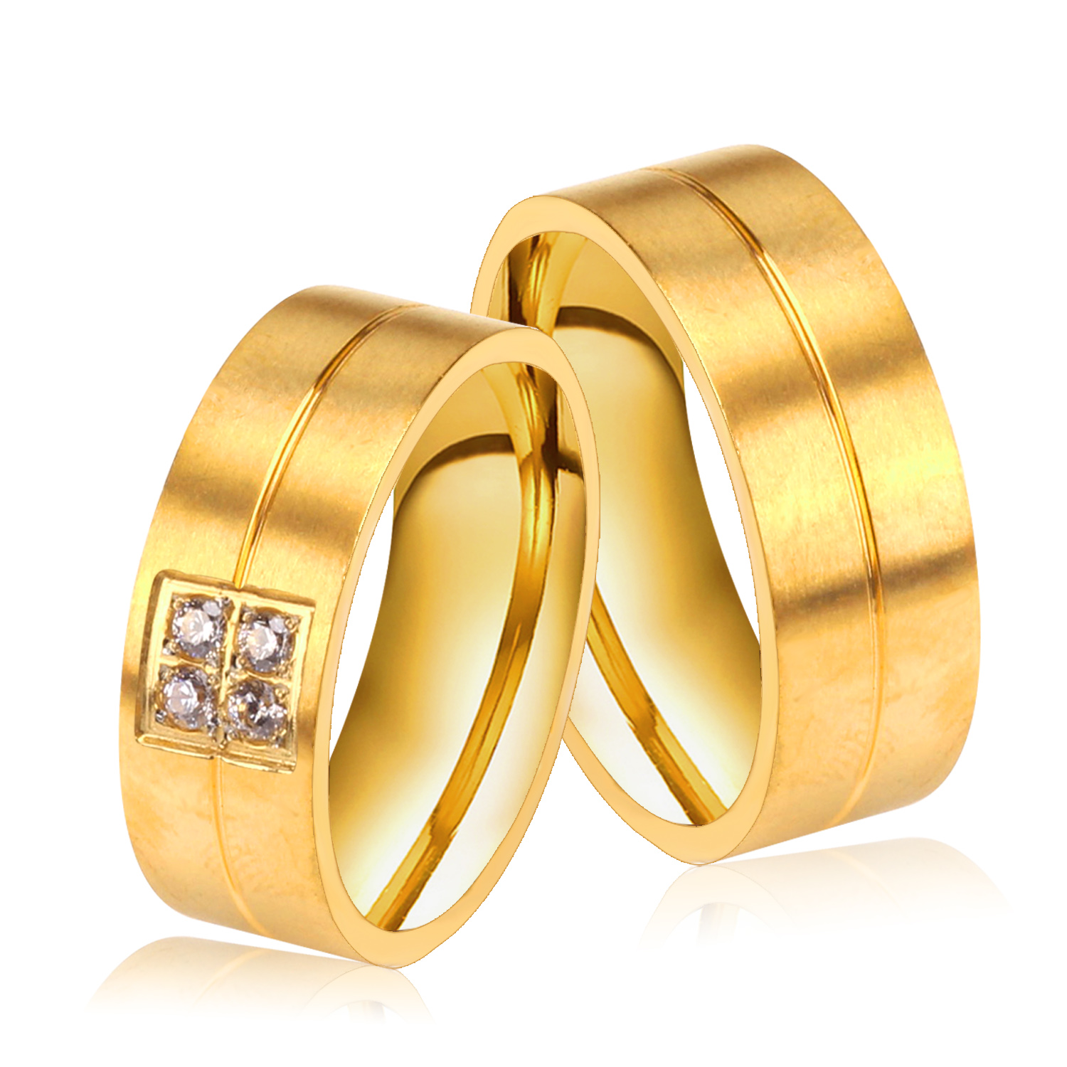 Aliexpress.com : Buy Brand New Wedding Bands Rings for ...