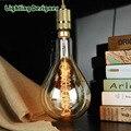 Tamanho grande PS52 A160 luz edison lâmpada incandescente do vintage decorativo lâmpada E27 110/220 V Filamento da lâmpada retro antigo Edison lâmpada