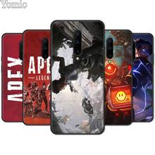Soft Cover Shell for Oneplus 7 7 Pro 6 6T 5T Silicone Phone Case for Oneplus 7 7Pro Black Case Apex Legends