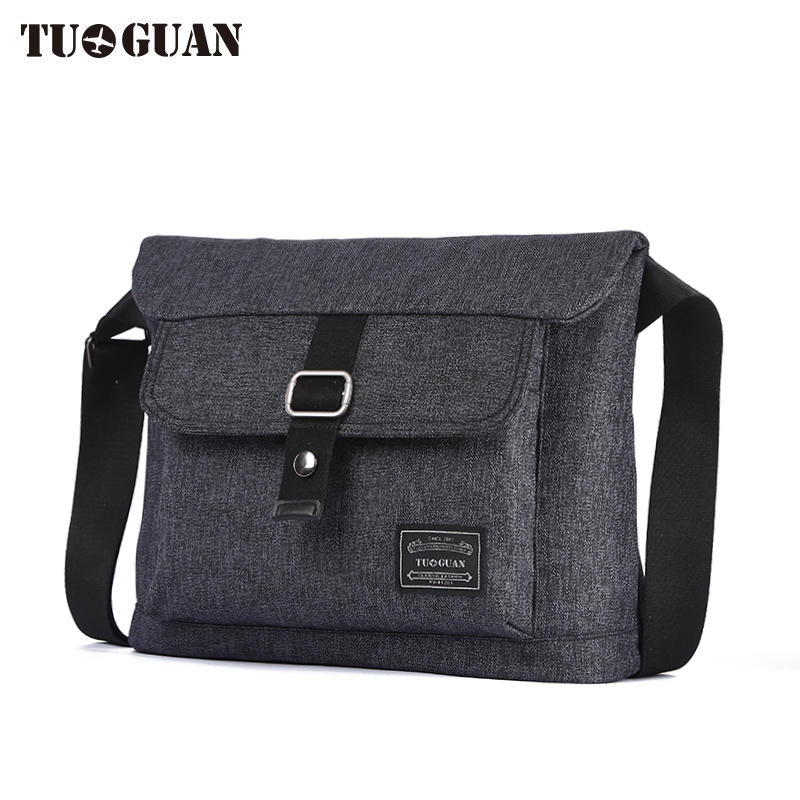 TUGUAN men messenger bags school canvas single shoulder bags crossbody bag for traveling Men Business Crossbody Bag DJ1701T anime attack on titan mini messenger bag boys ataque on titan school bags mikasa ackerman eren shoulder bags kids crossbody bag