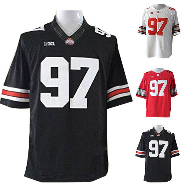 new concept ec0e0 42191 5XL Ohio State Football Jersey Black Joey Bosa Ohio State ...
