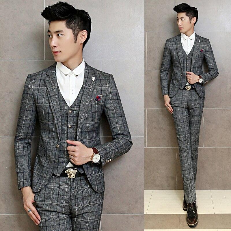 wholesale latest coat pant designs2016fashion 3 piece mens suits ...