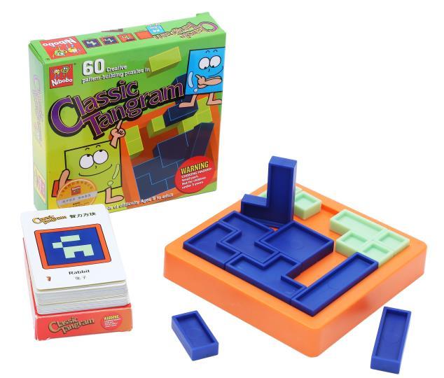Kvaliteta IQ Logika Puzzle Mind Brainteaser Djeca Obrazovne zagonetke - Igre i zagonetke - Foto 2