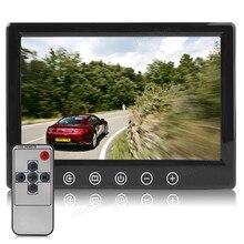 7 Pulgadas TFT LCD 2-CH Táctil de Entrada de Vídeo Botones Retrovisores de Coches Reposacabezas DVD VCR de La Cámara, el STB, Receptor de Satélite Monitor de seguridad