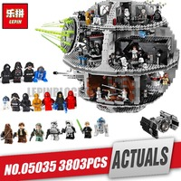 LEPIN 05035 Star Death Toys Model Building Block Bricks Wars Toys Kits Compatible for Children birthday Gifts legoing 10188