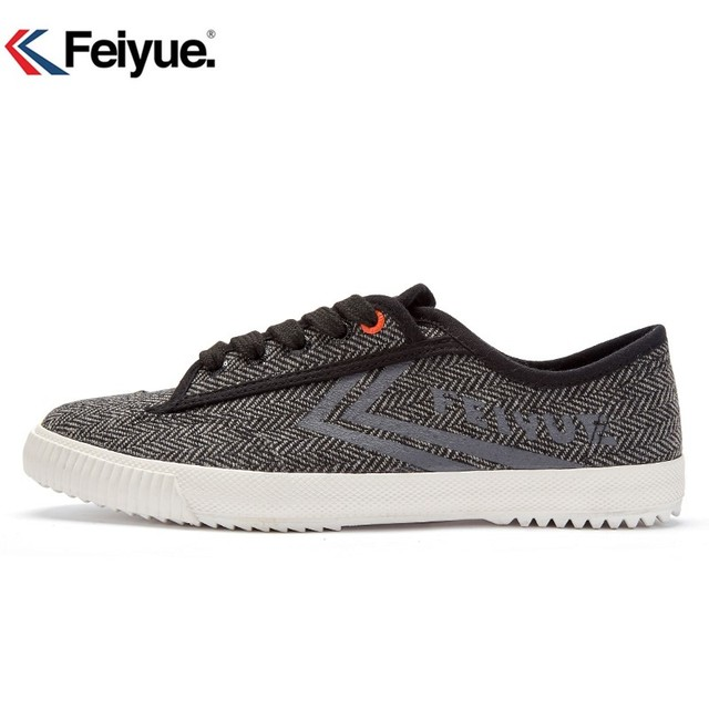 Feiyue men women shoes Style Black Sneakers Martial arts women men Kungfu shoes Walking canvas shoes Tai and Chi Shaolin shoes