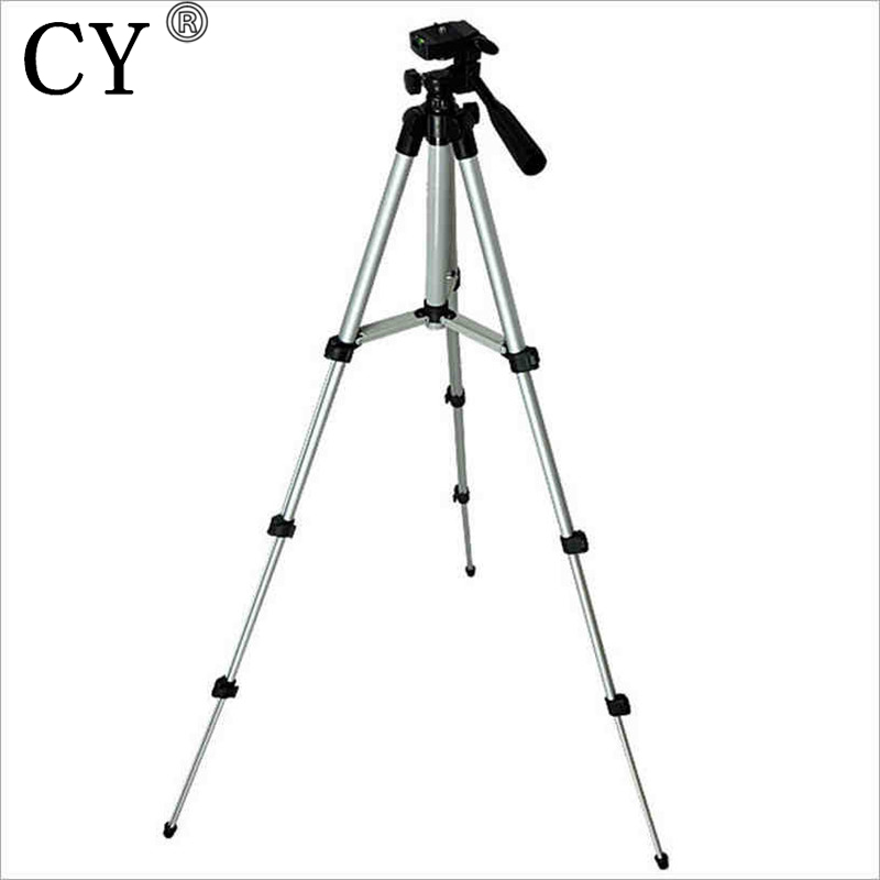 424d1136d Shopping Free Flexível 4 Seções Tripé 1050mm AL Universal Portátil  Profissional Tripé Para DSLR Camera Camcorder PTT20