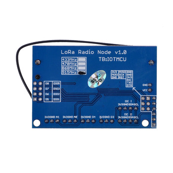 2PCS LoRa radio node 1 0 915 MHz RFM95 SX1276 wireless node module