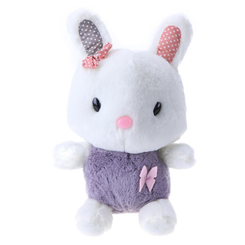 60s Recording Practical Rabbit Toy Soft Stuffed Plush Doll Cute Speak Talking Sound Record Rabbit for Girls Friend Gifts