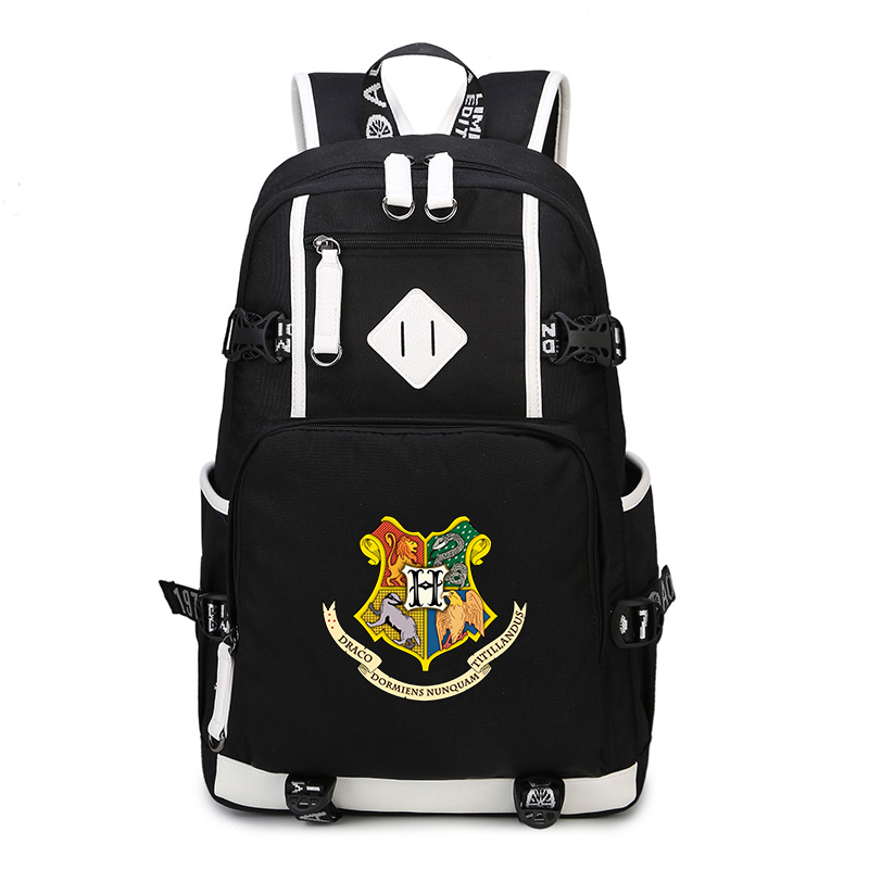 Harry Potter School Bags Backpack Fashion Shoulder Bag Rucksack Students Travel Bag for teenagers Children Bag fashion women leather backpack rucksack travel school bag shoulder bags satchel girls mochila feminina school bags for teenagers