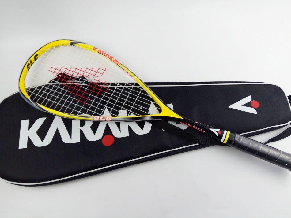 Us44 kwaliteit Tas Met Geel Rackets Karakal 51Off Racket In Zak Carbon 57 Groen Squash XTZiOPku