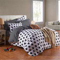 4pcs Bedding-set Family Cotton Bedding Set Bed Sets Sheets Duvet Cover Pillow Covers Bedclothes Bedspread No Comforter 041-4