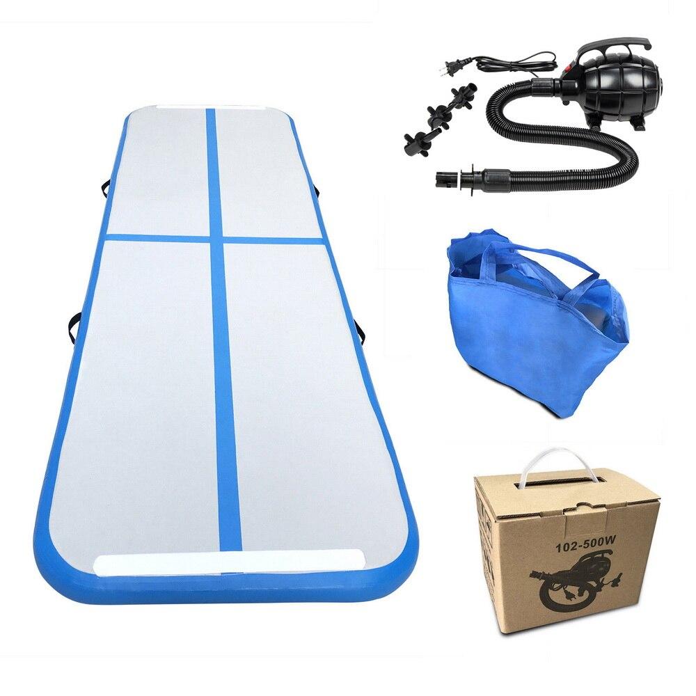 (Expédier de nous) tapis de Yoga 300 cm * 100 cm * 10 cm gonflable piste de dégringolade Trampoline piste d'air plancher maison Gym gymnastique tapis gonflable