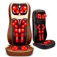 Vibration Massage Chair Mat Neck Full body 3D Mechanical Massage Pad Massage Device