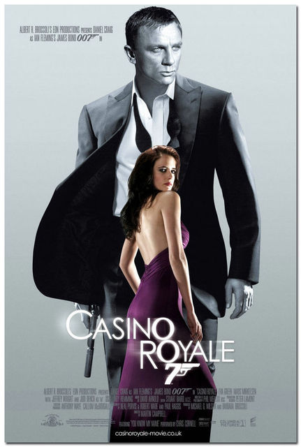 Casino Royale James Bond Daniel Craig Huge Movie Silk Poster Art Bedroom Decoration 0969