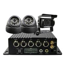Free Shipping 4CH 256G SD 3G GPS Track Car DVR H 264 Phone View font b