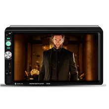 Wince 7 inch Car MP5 HD Player Reversing Image Priority Mobile Phone Interconnect Touch Screen Built-in Bluetooth Microphone