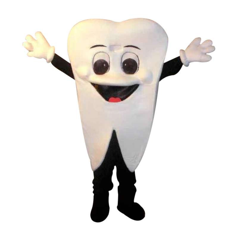 Teeth tooth mascot costume size adult costume Halloween Carnival party event
