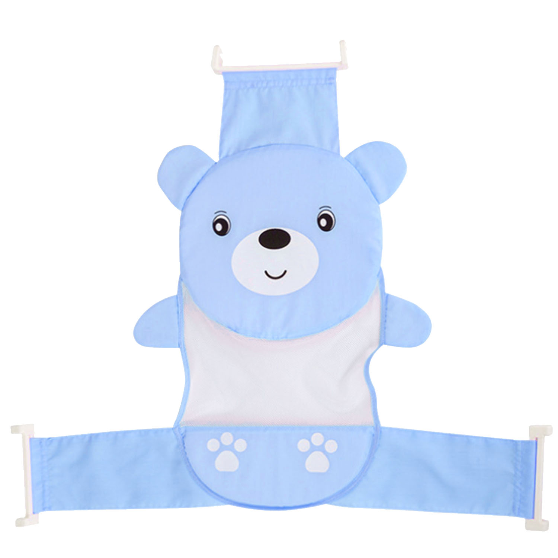 Kualitas Lucu Kartun Bayi Bath Tub Bathtub Penopang Kursi Net Adjustable Bathtub Keamanan Kursi Untuk 2 Tahun Baby Blue Intl Oem