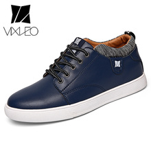 VIXLEO Genuine Leather Shoes Men Height Increasing Shoes Fashion Men's Causal Shoes Male Brand Footwear Thick Non-slip