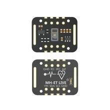 MH-ET LIVE MAX30102 датчик частоты сердечных сокращений модуль обнаружения пульса крови тест на концентрацию кислорода для Arduino STM32 ультра-низкая мощность