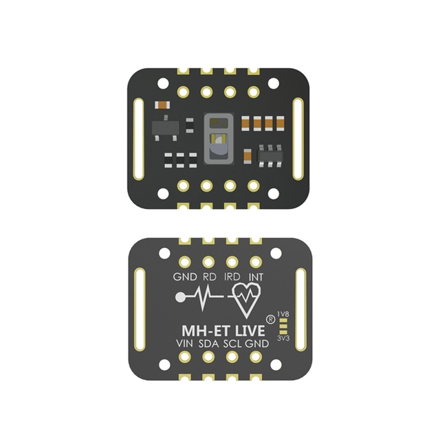 MH-ET LIVE MAX30102 Heart rate Sensor Module Puls detection Blood oxygen concentration test For Arduino STM32 Ultra-Low Power