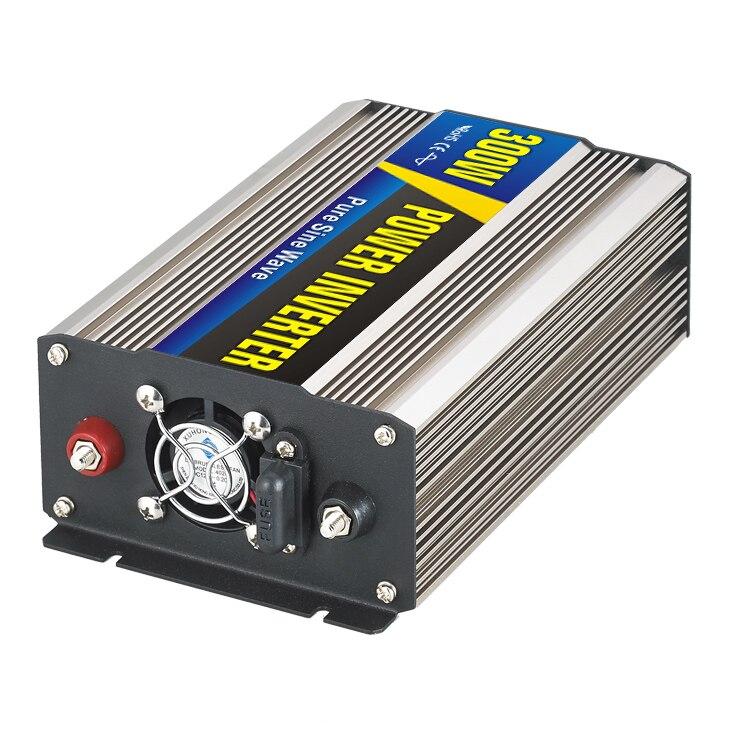 Maylar @ 300 Вт автомобиля Мощность преобразователь DC 24 В к AC 110 В или 220 В чистый синус волна Мощность солнечные инверторы Мини Размер реального М...