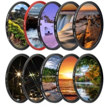 KnightX 49mm 52mm 58mm 62mm 67mm 72mm 77mm UV CPL ND Star Camera Lens Filter For canon sony nikon 2000d kit 49 52 58 67 72 77 mm