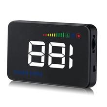 Geyiren 3.5 дюймов A500 HUD Дисплей автомобиля overspeed Температура воды сигнализация OBDII или ЕС OBD интерфейс Светоотражающие Плёнки автомобиль-Стайлинг