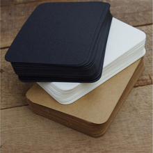 Memo-Pad Stickers Planner Message-Cards Kraft-Paper Leave Words Colored Black Cute Students