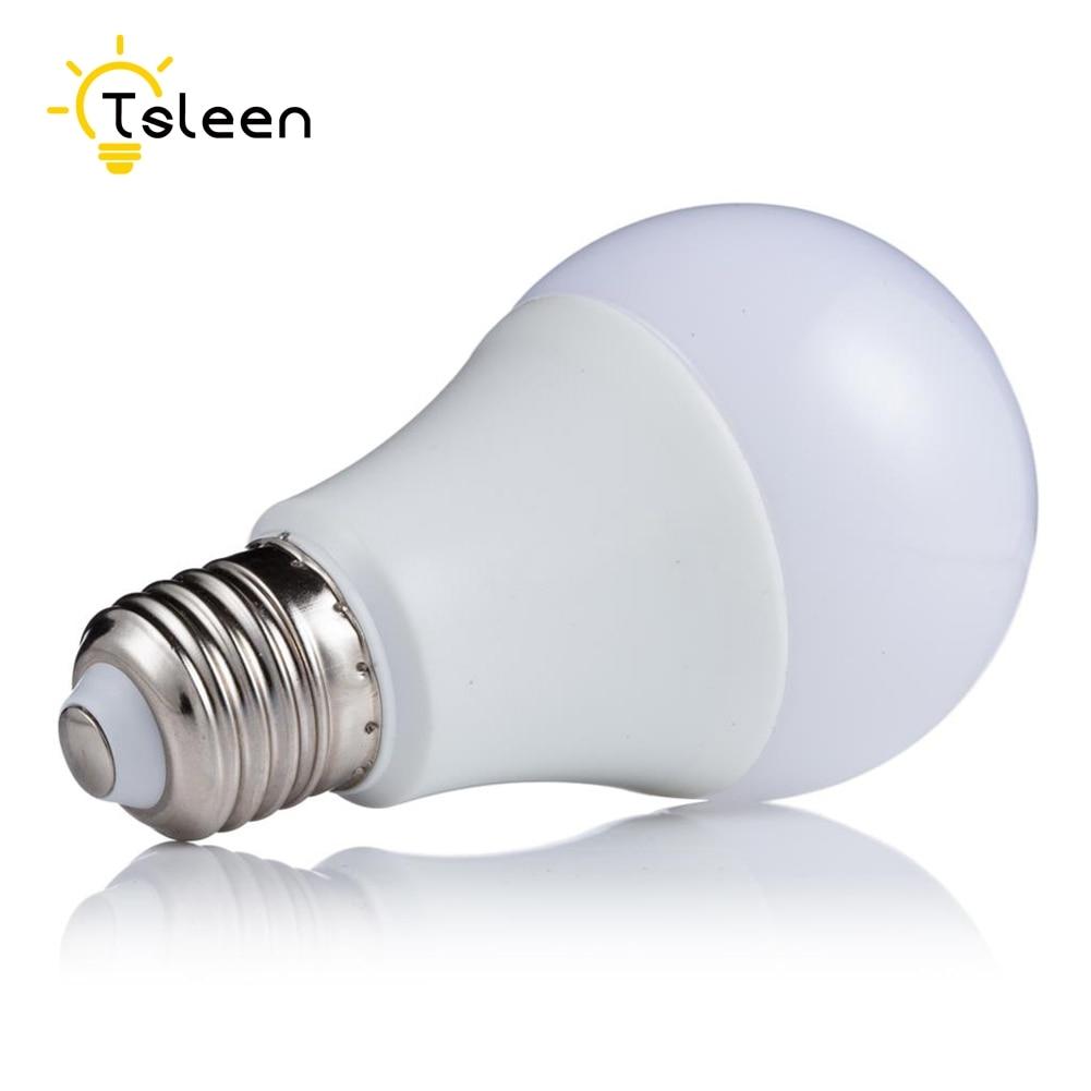 Open-Minded Tsleen 10pcs Energy Saving Lampada Led Lamp E27 Smd 5730 Led Bulb Light 3w 5w 7w 9w 12w 220v 230v 240v Led Bombillas Lights Light Bulbs Lights & Lighting