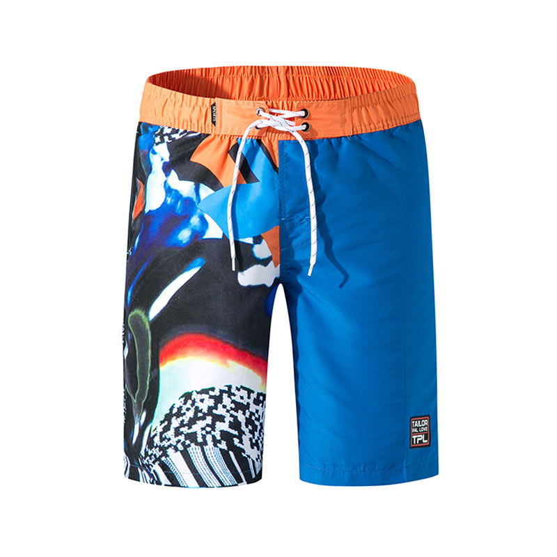 2019 Summer Swim   Shorts   Trunks Swimsuits Summer Beach   Board     Shorts   Loose Cotton Swimwear Swim   Shorts   Male Surfing Swim   Shorts