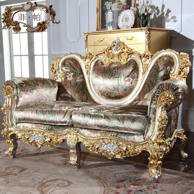 Foshan Muebles antiguos Sofás Muebles De Madera de Exportación a ...