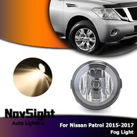 NOVSIGHT Auto Car Fog Lights Driving Fog Lamp Halogen Bulbs for Nissan Patrol 2015 2017 2pcs/set D35