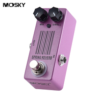 Mosky Spring Reverb Mini Single Guitar Effect Pedal With True Bypass Guitar Parts Accessories