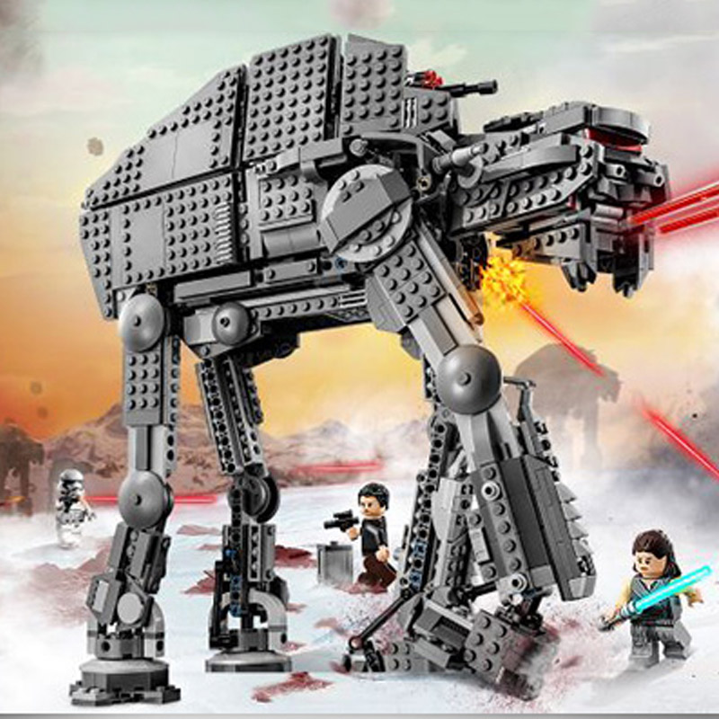 Bela 10908 Star Wars Series First Order Heavy Assault Walker Building Block 400pcs Bricks Toys Compatible With Legoings 75189Bela 10908 Star Wars Series First Order Heavy Assault Walker Building Block 400pcs Bricks Toys Compatible With Legoings 75189