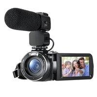 HDV Z20 цифрового видео камера Портативный 1080 P Full HD объектив Max 24 Мега пиксели 16x зум дистанционное управление Поддержка wi fi